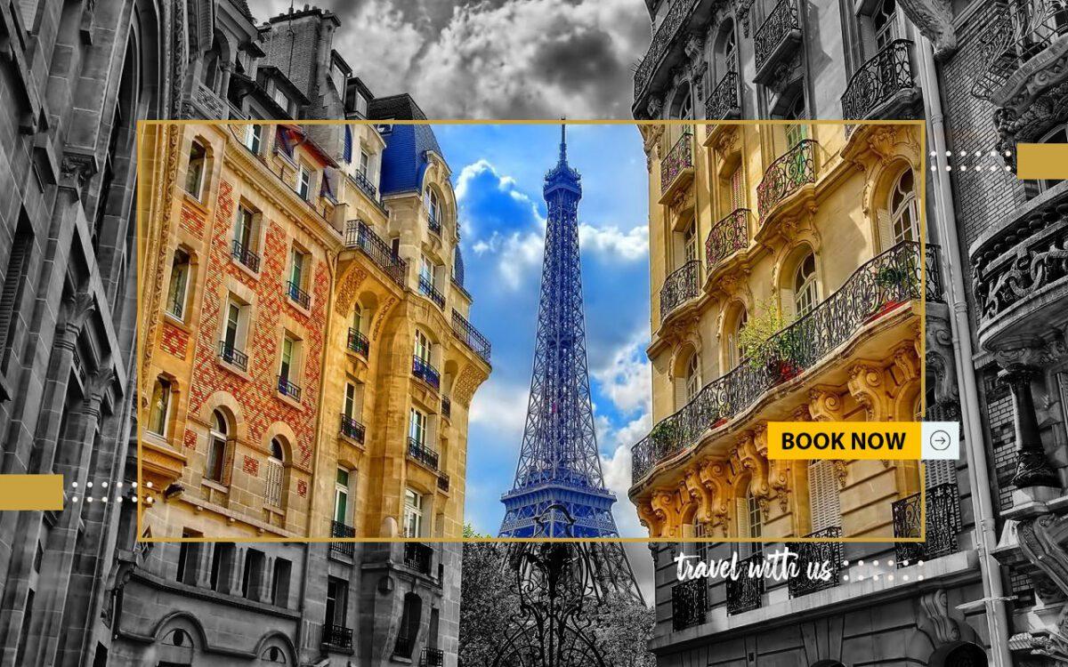 تور 5 روزه پاریس از شیراز