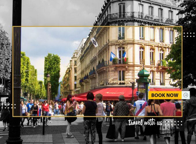 5 روزه پاریس از مشهد